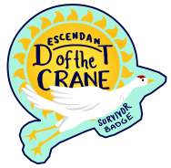 Descendant of the Crane Survivor Badge