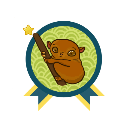 Year of the Asian Reading Challenge - Philippines Tarsier